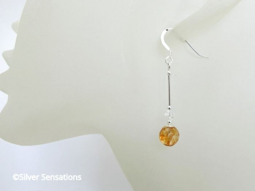 Orange / Peach Earrings